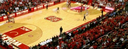 PNC Arena is one of Basketball Arenas.