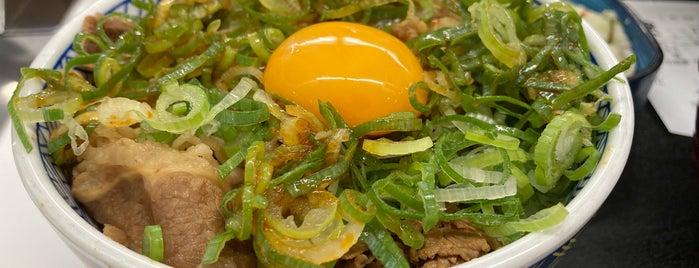 Yoshinoya is one of 食事処.