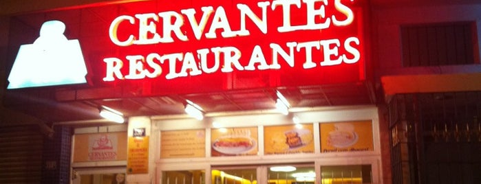 Cervantes is one of Lugares favoritos de Mariana.