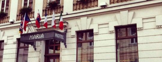 Hotel Maria is one of Zuzana'nın Kaydettiği Mekanlar.