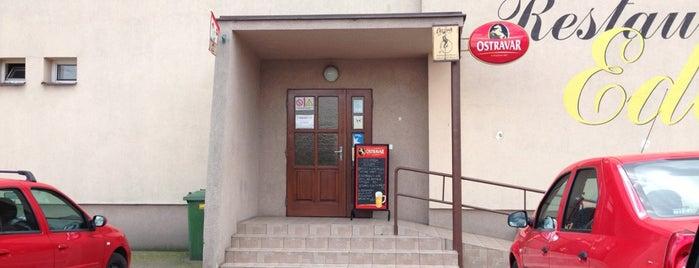 Restaurace Eden is one of Zuzana'nın Kaydettiği Mekanlar.
