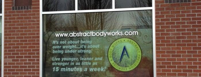 Abstract Bodyworks is one of สถานที่ที่ Erin ถูกใจ.