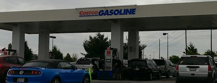 Costco Gasoline is one of Frederick County favorites.