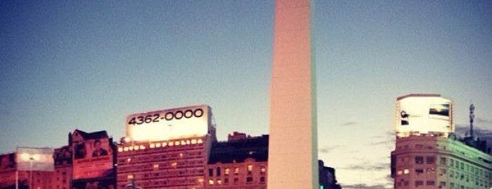 Obelisco - Plaza de la República is one of Buenos Aires - Tour.