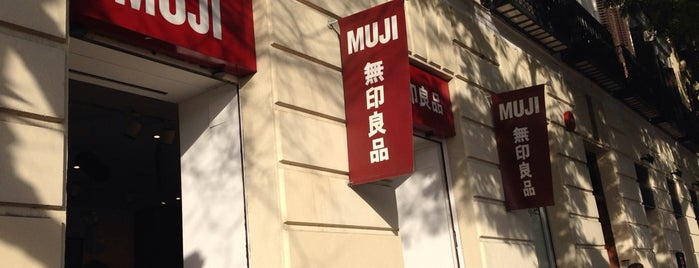MUJI is one of Madrid.