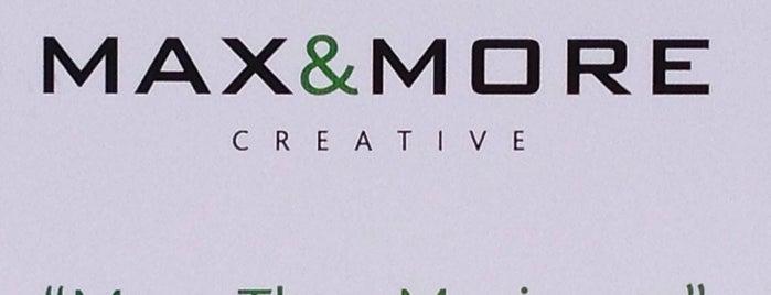 Max & More Creative is one of Tempat yang Disimpan artun.