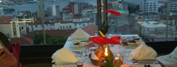 Anemon Hotel Galata is one of T.