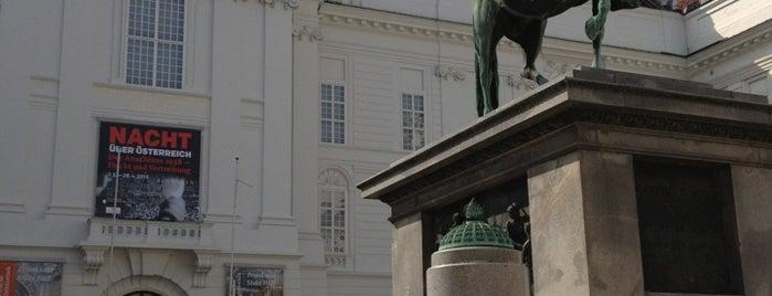 Josefsplatz is one of Wien.