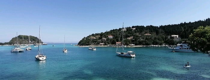 Lakka Port is one of Corfu, Greece.