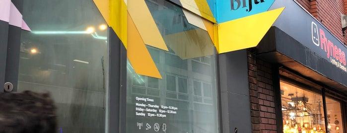 Biju Bubble Tea Room is one of London.