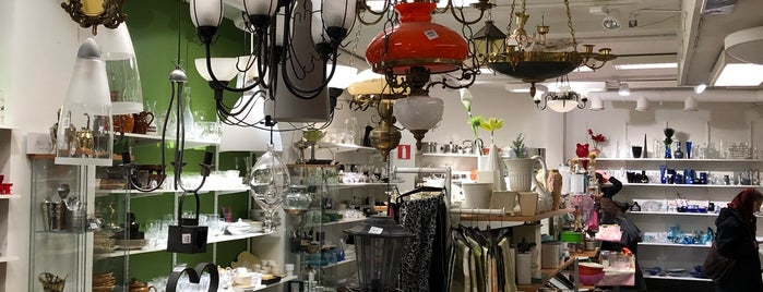 Great vintage/thrift shops around the world.