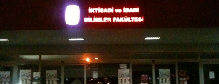 İktisadi ve İdari Bilimler Fakültesi is one of Dilay'ın Beğendiği Mekanlar.