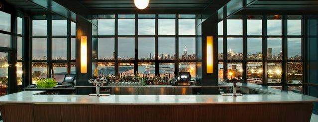 The Ides at Wythe Hotel is one of The Best Rooftop Bars in Brooklyn.