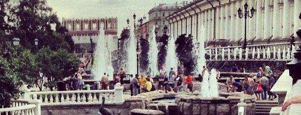 Манежная площадь is one of Москоу.