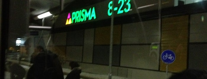 Prisma   Hiperveikals is one of Prisma HyperMalls in Riga.