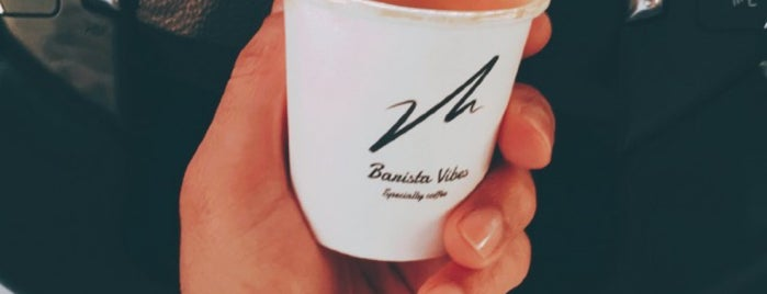 Barista Vibes is one of Dubai's must places.