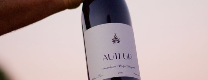Auteur Wines is one of SF Chronicle.