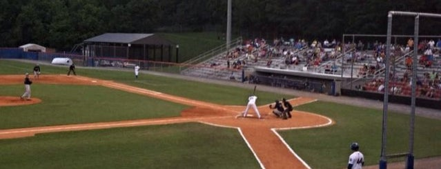 Hunter Wright Stadium is one of Minor League Ballparks.