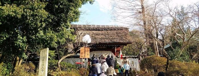 浮岳山深大寺山門 is one of Lugares favoritos de モリチャン.