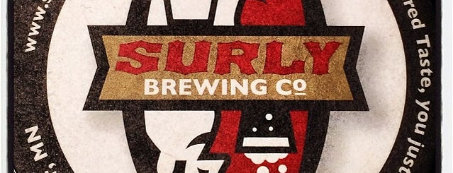Surly Brewing Co is one of Breweries USA.
