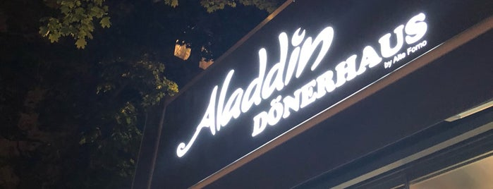 aladdin dönerhaus is one of Berlin.
