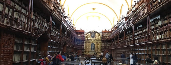 Museo Biblioteca Palafoxiana is one of YA FUI PUEBLA.