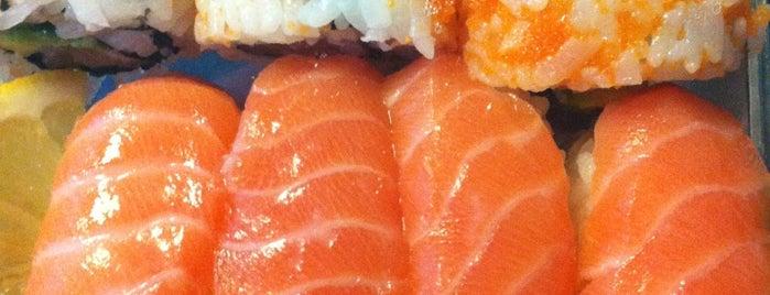 YO! Sushi is one of Lieux qui ont plu à Elena.