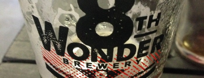 8th Wonder Brewery is one of Houston.