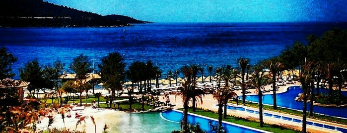Vogue Hotel Bodrum is one of Yıldızko 님이 저장한 장소.