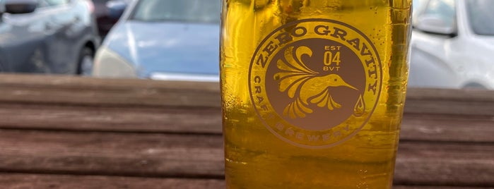 Zero Gravity Brewery is one of Burlington.