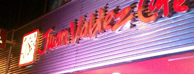 Juan Valdez Café is one of DF.