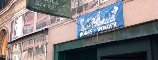 "Books of Wonder is one of ""Oh, I love New York""."