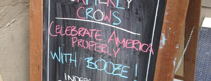 Formerly Crow's is one of Favorite Bars.