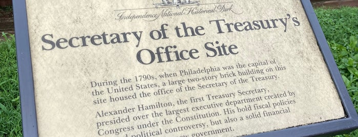 First Bank of the United States is one of Historic America.