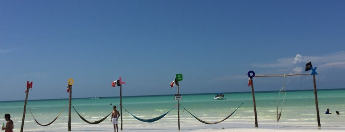 Club de Playa Las Hamacas is one of Yucatan.