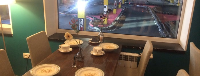 Caffe Italia Karting is one of Еда.