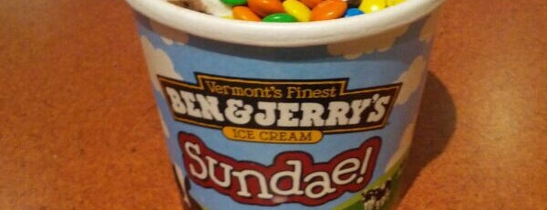 Ben & Jerry's is one of Jiehan's Liked Places.