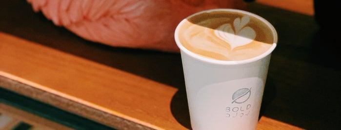 Bold Coffee is one of Tempat yang Disukai Alanood.