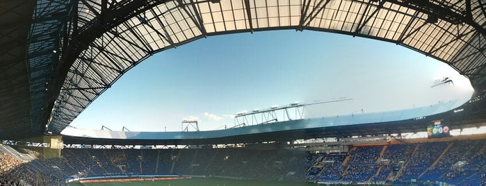 ОСК «Металіст» / Metalist Stadium is one of Locais curtidos por Anna.