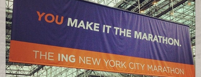 ING New York City Marathon Health & Wellness Expo is one of USA NYC Cultural.