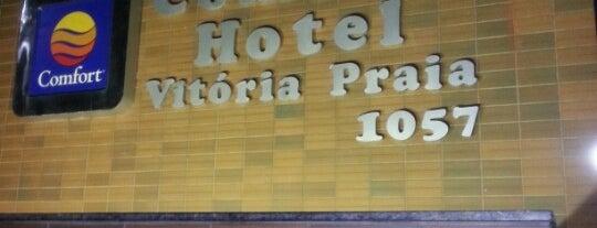 Hotel Vitória Praia by Atlantica is one of Tempat yang Disukai Wesley.