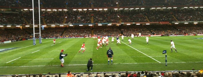 Principality Stadium is one of Local's Guide to Cardiff.