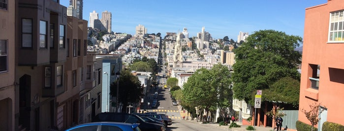 Telegraph Hill is one of San Francisco.