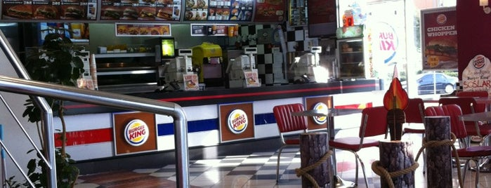 Burger King is one of Tempat yang Disukai arslan.
