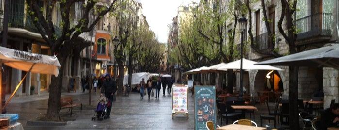 Rambla de Girona is one of Essentials Girona.