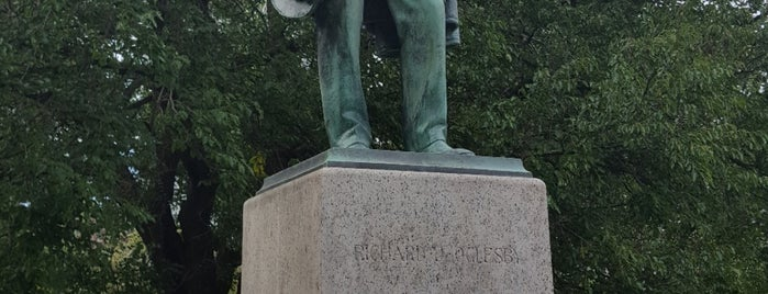 Richard J. Oglesby Statue is one of Martyさんのお気に入りスポット.