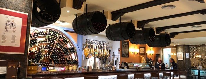 La Ménsula is one of Restaurantes que admiten cheques Gourmet.