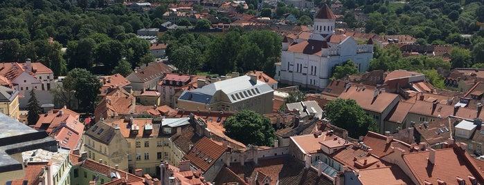 Vilniaus Universiteto Šv. Jonų Bažnyčios Bokštas is one of Locais curtidos por Carl.