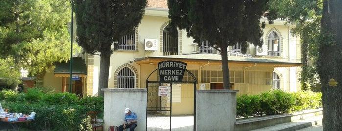 Hürriyet Merkez Cami is one of Osmangazi | Spiritüel Merkezler.