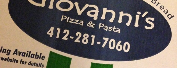 Giovanni's Pizza and Pasta is one of Locais salvos de Kapil.